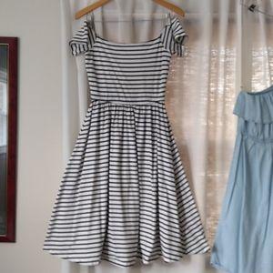 Flattering Off-the-Shoulder Dress